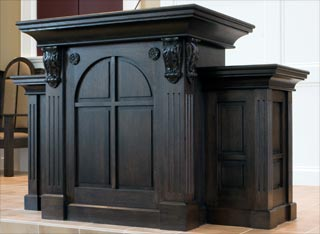 Chancel Furniture hand carved mouldings