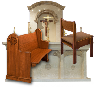 chancel pews and church chairs