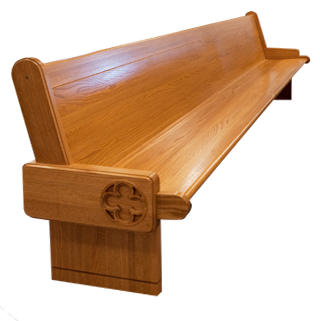 Pew, Solid Oak