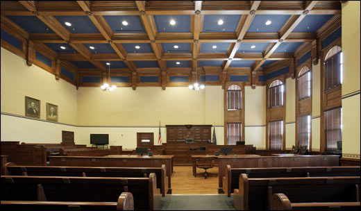 Beatrice County Courtroom courtroom furniture