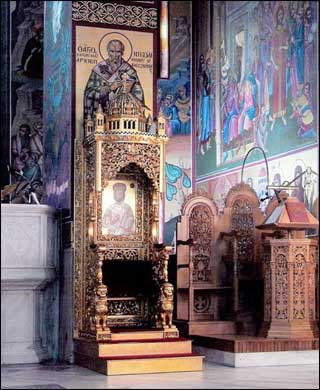 Bishop's Chancel Chair customed designed by Ratigan Schottler